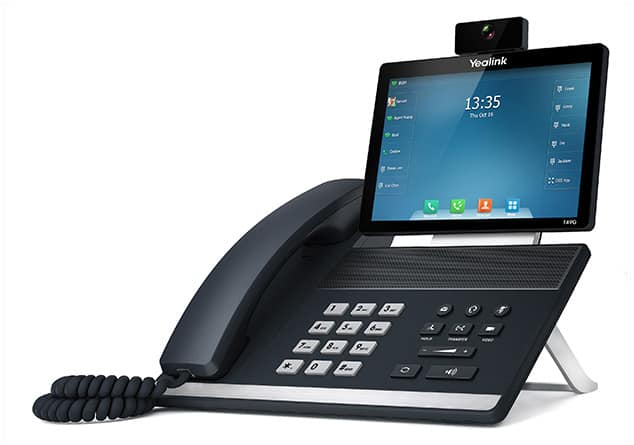 טלפון וידאו עם מסך מגע מהפכני